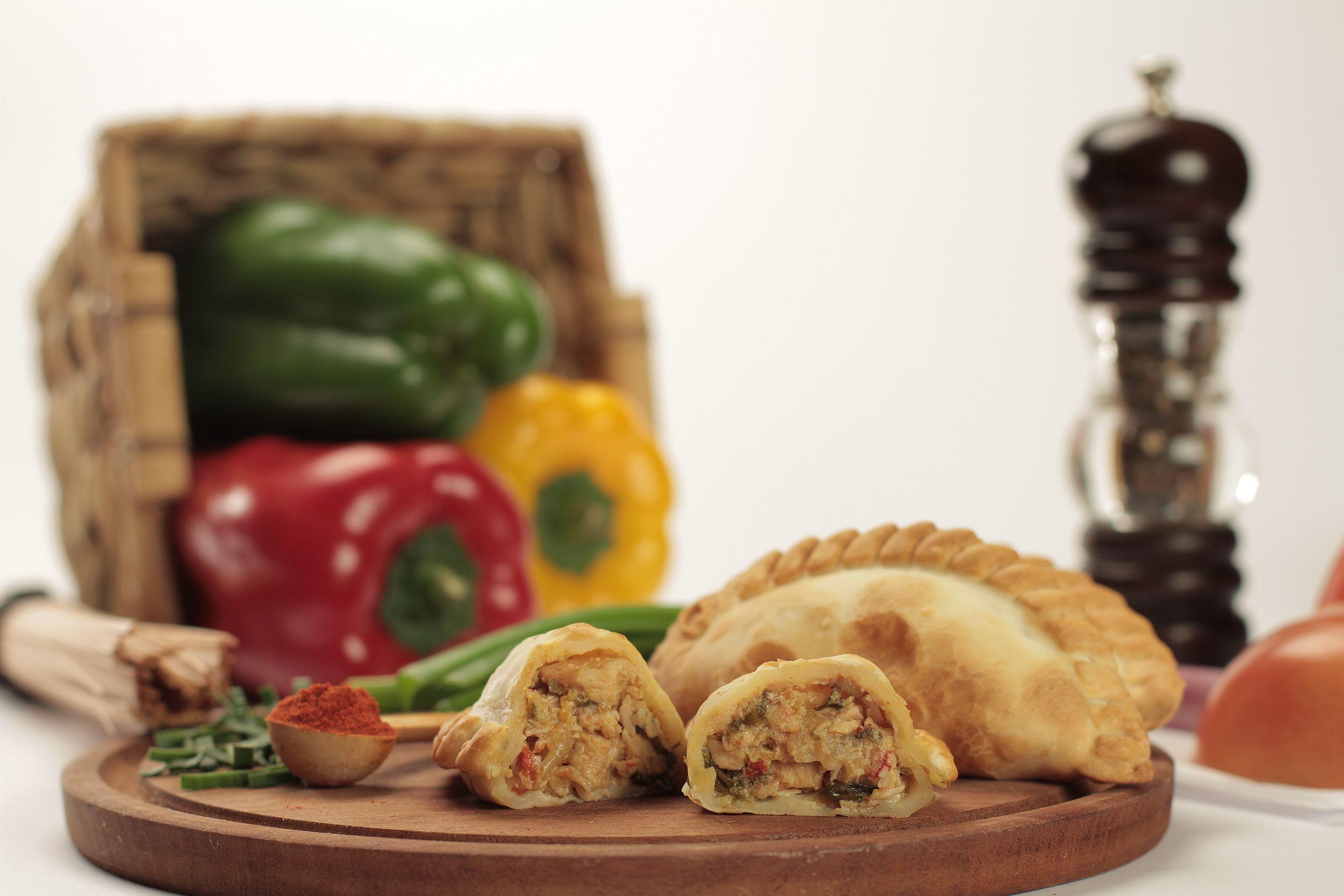 Empanada de pollo y verduras de Cumen Cumen